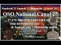 V21 S22 21H00 D23 Avril 2017 10H00 QSO National du CX 27