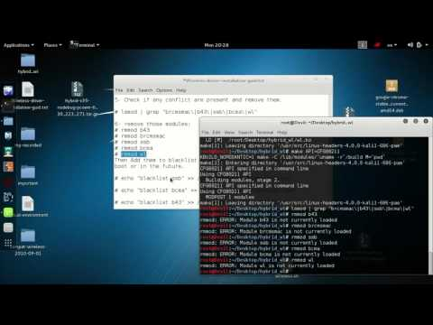 Install the Realtek rtl8812au Wifi Driver in Linux