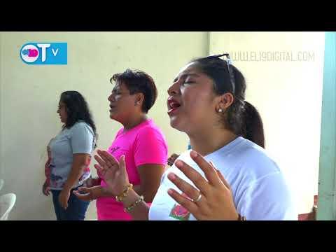 Comunidad evangelica del Ministerio Ciudad de Dios ora por la paz de Nicaragua