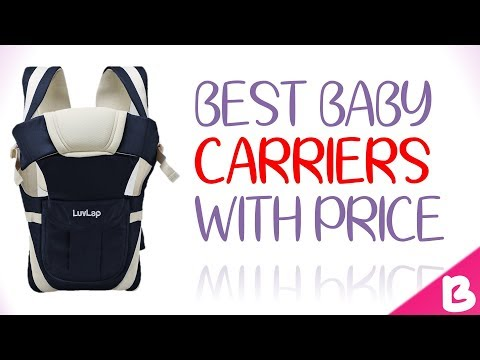 7 Best  Baby Carriers in India with Price – 2018