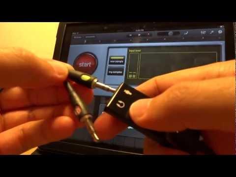 iPad External USB Audio Input Adapter