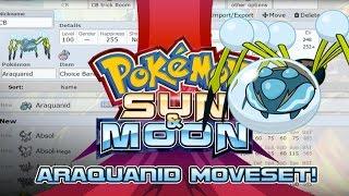 Araquanid  - (Pokémon) - Araquanid Moveset Guide! How to use Araquanid! Pokemon Sun and Moon! w/ PokeaimMD!