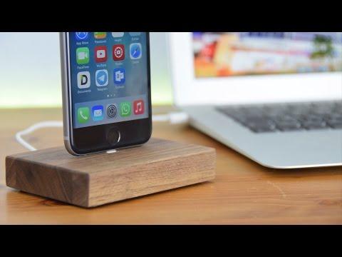 Hochwertige Docks fürs iPhone & iPad aus Echtholz - WoodenHP