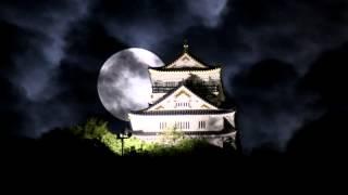 スーパームーン×岐阜城SuperMoon×GifuCastle,Japan2014/9/9