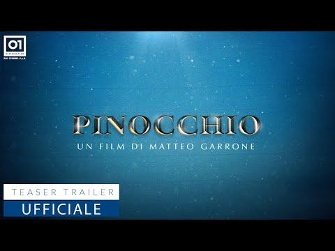 Pinocchio di Matteo Garrone, ecco il Teaser Trailer