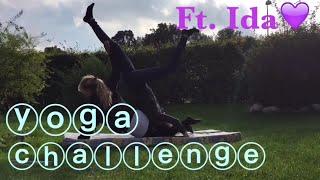 Yoga Challenge Ft. Ida😍💜