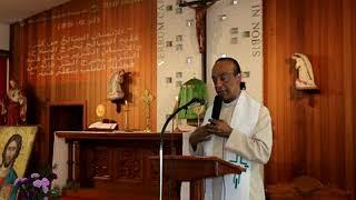 عظة الأب بولس مارديني في كنيسة السيدة الرقاد بعنوان .لماذا لا يستجيب الله لنا عند الضيق. في سدني