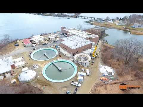 February 2020 Aerial Progress Video Peirce Island WWTF Project