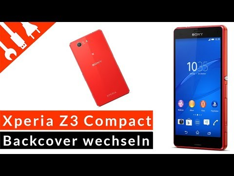 SONY XPERIA Z3 COMPACT Backcover wechseln - günstige DIY Reparatur