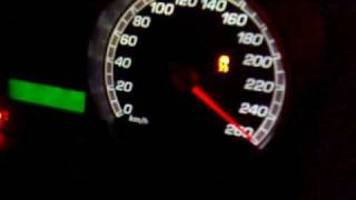 Ford Focus ST stage 3 0-180 km/h ( -1 Celsius with summer tires :P ...
