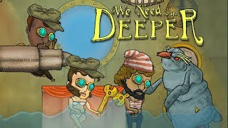 🤽WE NEED TO GO DEEPER (Смешные моменты | Лучшее Прохождение)
