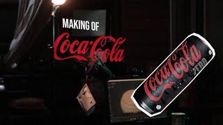 Iklan 3d Minuman Kaleng Social Media dan TV Display