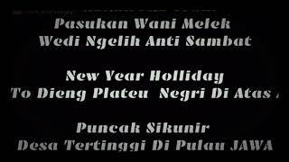 preview picture of video 'Trip To Dieng Plateu, Bukit SIKUNIR'