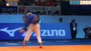 Judo 2009 Rotterdam: Kaori Matsumoto (JPN) - Morgane Ribout (FRA) [-57kg].