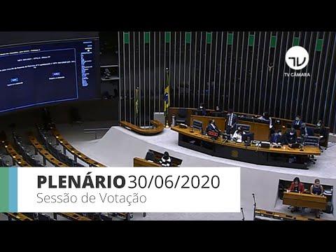 Plenário aprova MP que prevê crédito para pequenas e médias empresas - 30/06/2020 - 15:01