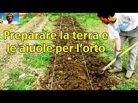 1 l'orto di Stefanoapeassassina - le aiuole - come fare quasi correttamente un orto al naturale
