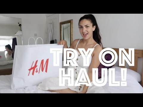 H&M GYMWEAR | TRY ON HAUL | HONEST REVIEW