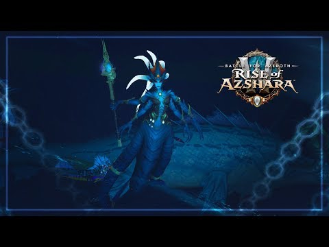 Queen Azshara Boss Fight   The Eternal Palace Raid - Patch 8.2 Rise of Azshara