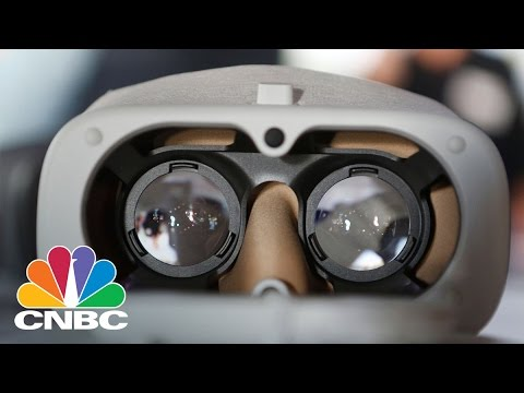Google Pushes Further Into Virtual Reality By Building Standalone VR Headsets | CNBC