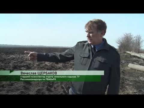 В Ростовской области Управлением Россельхознадзора выявлено повреждение гидромелиоративных сооружений на землях сельхозназначения
