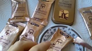 Кофе Kurukahveci Mehmet Efendi в пакетиках по 6 грамм