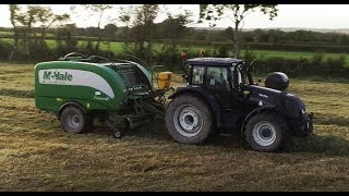 Silage 2019 Valtra T201 Baling  William Roche Contracting