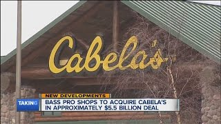 Bass Pro Shop is buying Cabela's