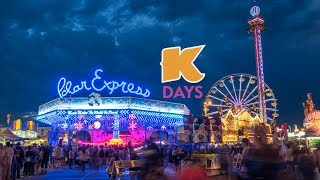 Timelapse/Hyperlapse of K-Days in Edmonton