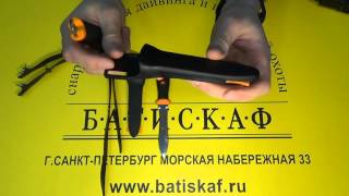 Нож с магнитным креплением Pelengas Volga от компании МагазинCalipso dive shop - видео