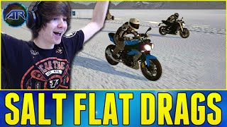 Let's Play : RIDE - SALT FLAT DRAG RACING!!! (Part 3)