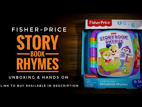 Laugh & Learn Storybook Rhymes | Unboxing | Quick Demo | Hands On
