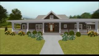 COUNTRY HOUSE PLAN 3125-00007