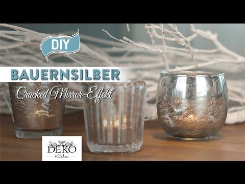 DIY: Bauernsilber mit Spiegel-Effekt selber machen [How to] Deko Kitchen