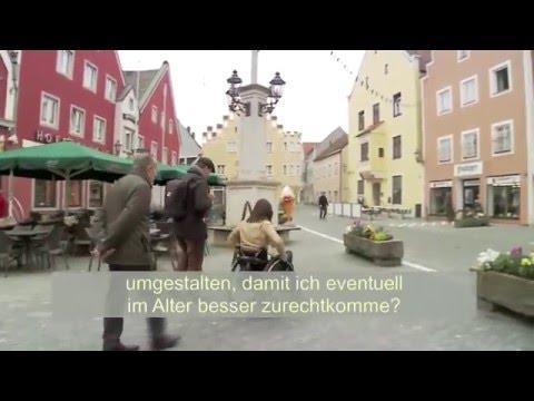 VdK-TV: Entrümpeltes Mittelalter - Barrierefreiheit in Abensberg (UT)