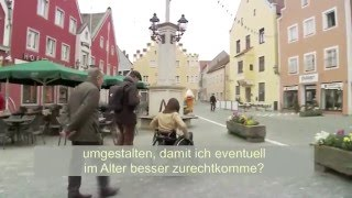 Video: VdK-TV: Entrümpeltes Mittelalter - Barrierefreiheit in Abensberg (UT)