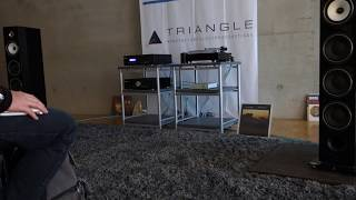 DHT 2019 - Triangle Esprit Ez Australe / Musical Fidelity m6si - m6scd / music-HALL
