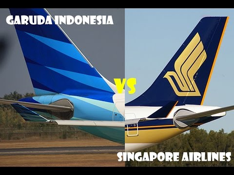 Garuda Indonesia VS Singapore Airlines