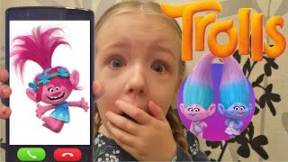 Calling Poppy From Trolls OMG She Actually Answered Freestyle Song I
