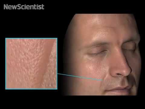 These Incredible Facial Scans Capture Detail Down To The Skin Cell