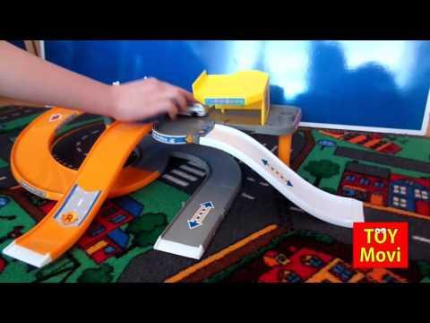 Hot Wheels Car - Track - Autos - rennbahn - Hotwheels Film! Spielzeug spielen