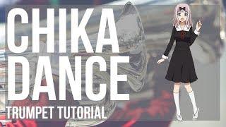 Kei Shirogane  - (Kaguya sama: Love Is War) - How to play Chika Dance (Kaguya sama) by Kei Haneoka on Trumpet (Tutorial)