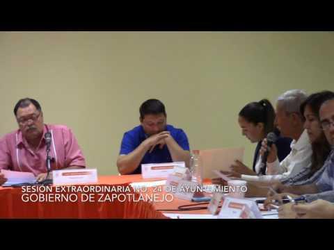 Sesión Extraordinaria No.24 del Ayuntamiento 25 de octubre de 2016