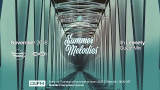 Summer Melodies on DI.FM - November 2018 with myni8hte & Guest Mix from Leonety