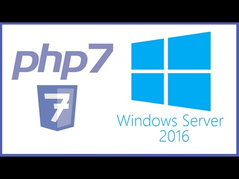 PHP - How To Manually Install PHP on IIS 10.0 for Windows Server 2016