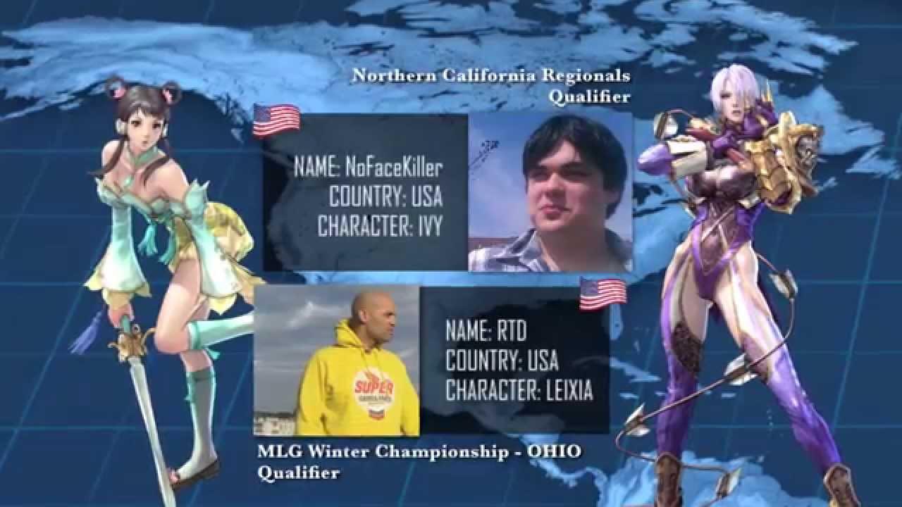 SoulCalibur V World Championships Broadcasting 4/10