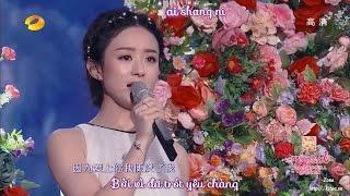 [Vietsub] [LIVE] Không Thể Nói 不可说 - Triệu Lệ Dĩnh 赵丽颖 (Hoa Thiên Cốt OST)