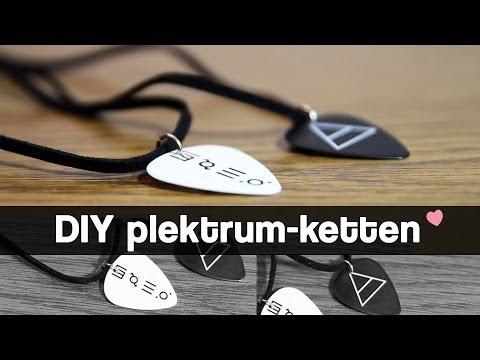 ❤ DIY Quicktipp -- Plektrum-Ketten ❤