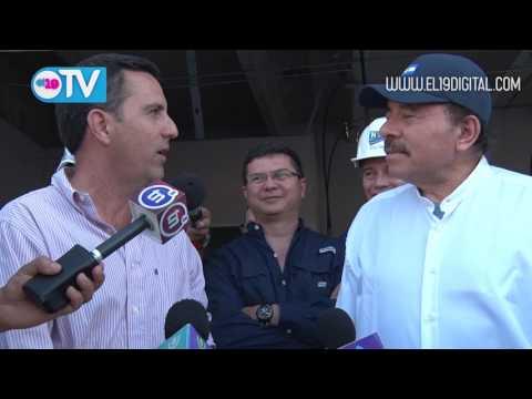 Presidente Daniel recorre obras del nuevo Estadio Denis Martínez y el Polideportivo Alexis Argüello
