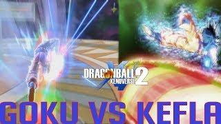 Reenacting Goku Vs Kefla in Xenoverse 2 | Dragon Ball Xenoverse 2 Gameplay