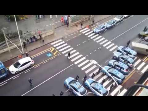 Preview video Cagliari: Sirene della Polizia per dire Grazie a medici e infermieri